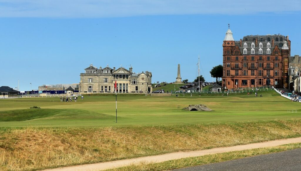 St Andrews golfbana