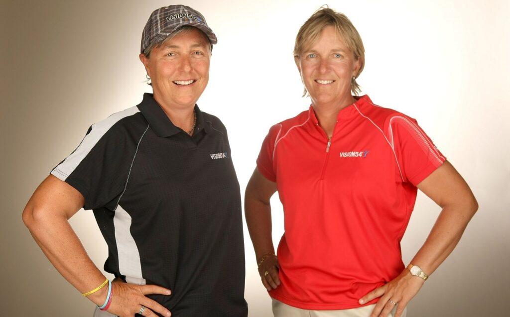Lynn Mariot och Pia Nilsson