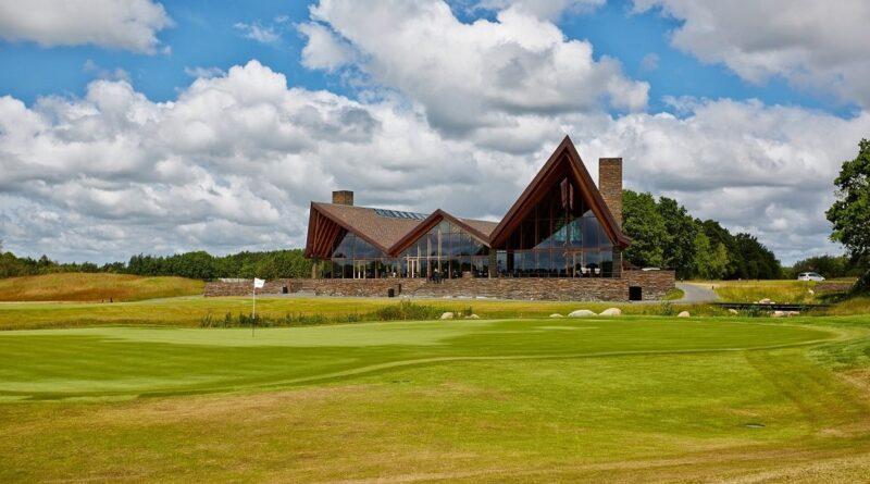 Klubbhuset i Köpenhamn är ritat av arkitekten Henning Larsen
