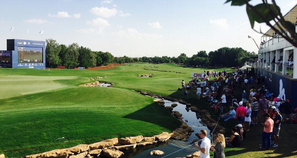 Dubai golfbana