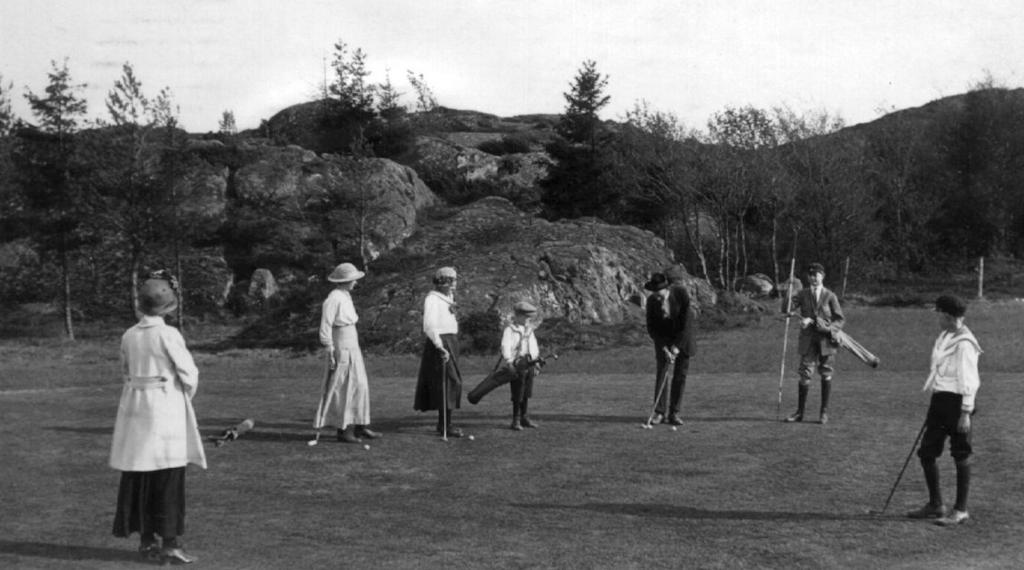 Historia golf