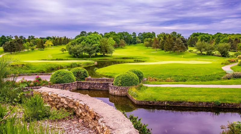 Golfbana i Frankrike