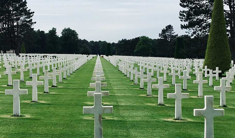 Krigskyrkogården Omaha