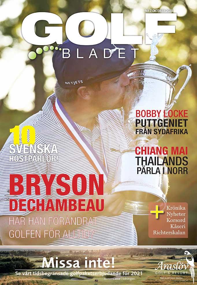 Omslag Golfbladet