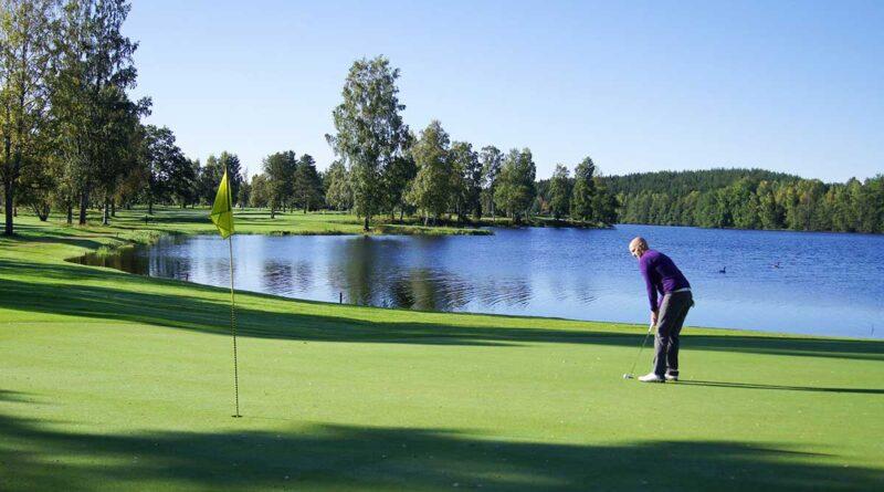Höst golfbana
