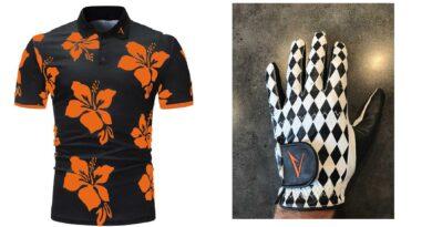 Happyalba tröja, golfhandske