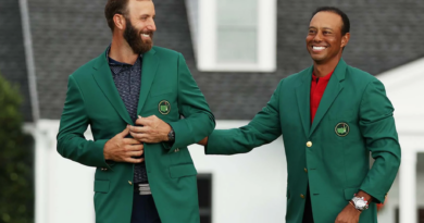 dustin johnson och tiger woods