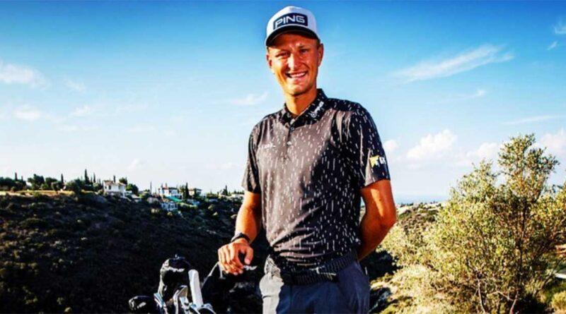 Adrian Meronk golfspelare från Polen