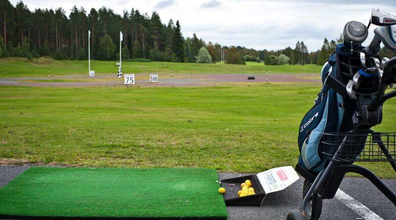 Golfbag gratisbild