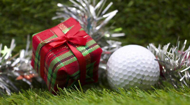 golfboll julklapp