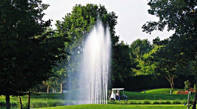Fontän golfbana