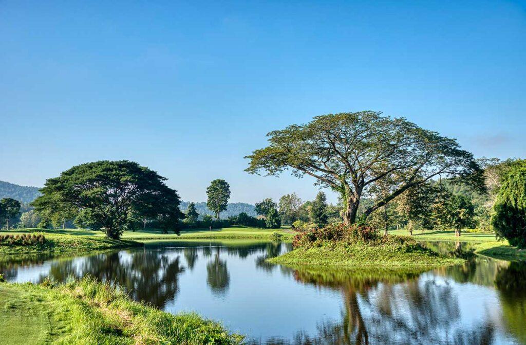 Thailand golfbana