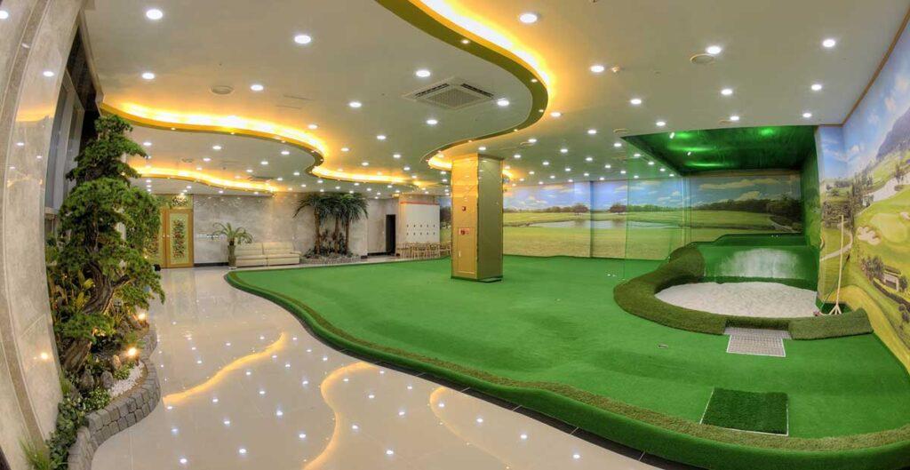 Screen golf lampor