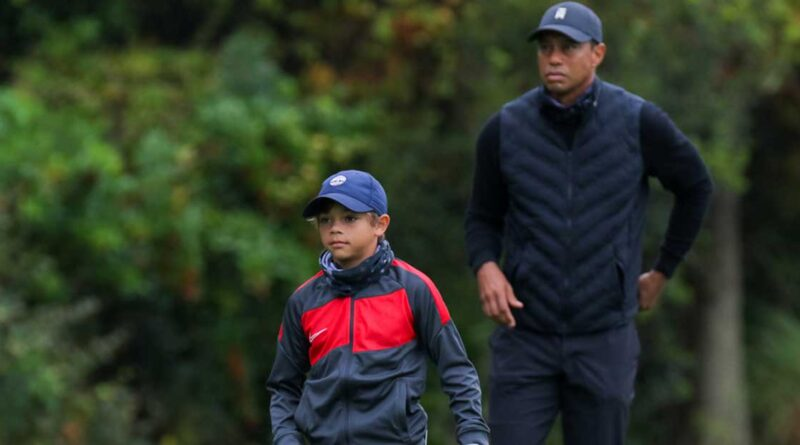 Tiger Woods Charlie