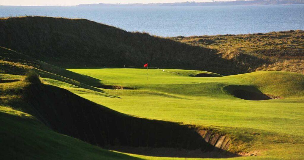Golfbana The European Club Irland
