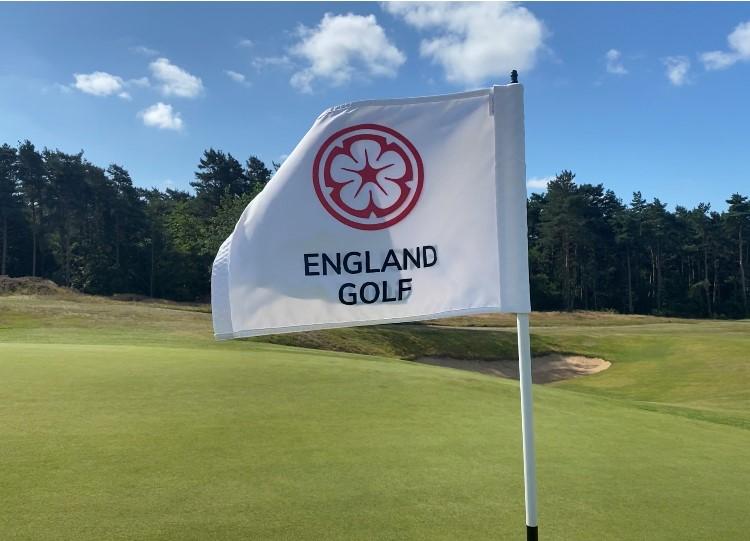 England Golf flagga