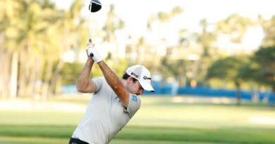 Kanadensaren golfspelaren Taylor
