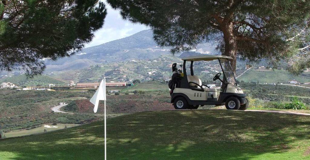 Golfbil Spanien