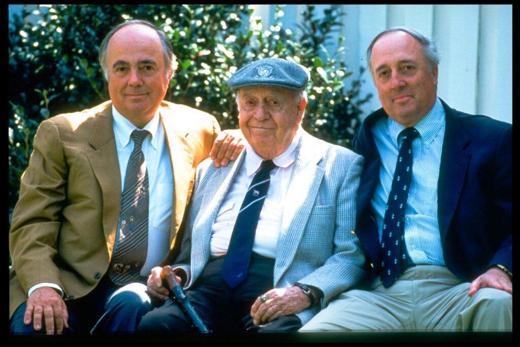 Robert Trent Jones familj