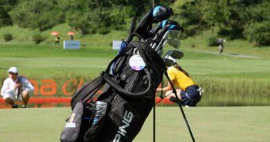 Golfbag klubbor