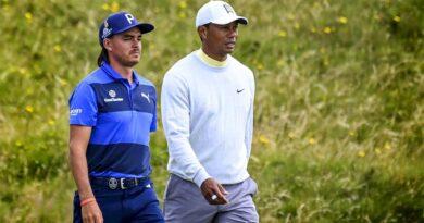 Rickie Fowler och Tiger Woods