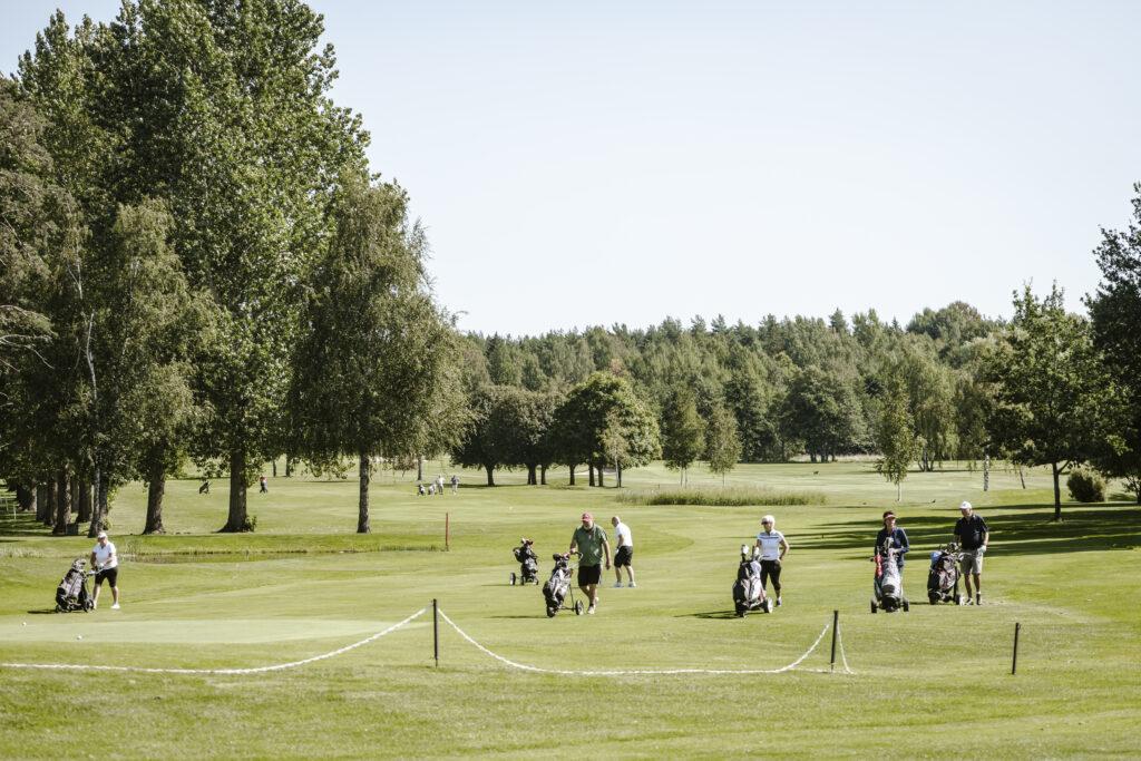 Golfbana Spendrups pressbild