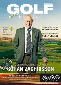 Omslag september Golfbladet
