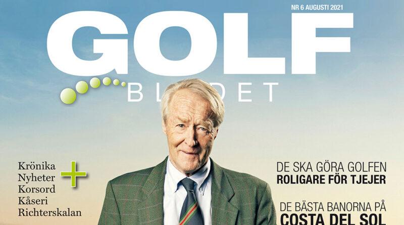 Golfbladet September 2021 Omslag