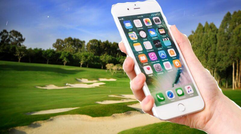 Mobil golfbana